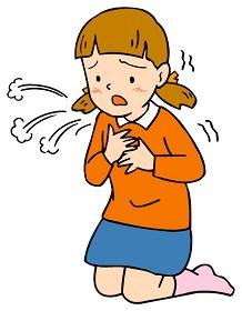 子供の喘息
