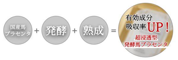 発酵熟成プラセンタ成分