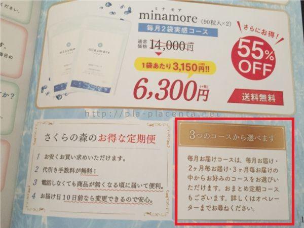 ミナモア定期コース